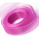 Shocking Pink Chiffon Ribbon