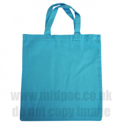 Medium Sky Blue Canvas Bags