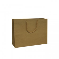300mm Brown Recycled Paper Carrier Bags