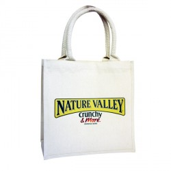 Small Printed Laminated Cotton Bags