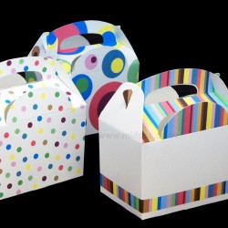 Stripes And Dots Meal Boxes