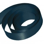 Teal Double Faced Satin Ribbon