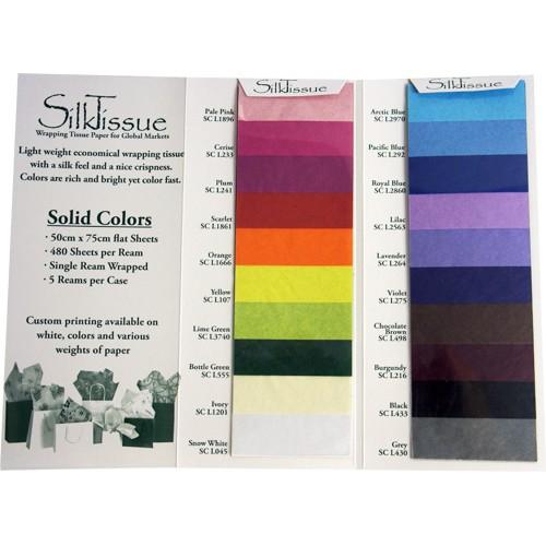 Standard Tissue Paper Swatch