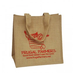 300mm Webbed Printed Jute Bags