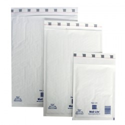 0 White Mail Lite Mailing Envelopes