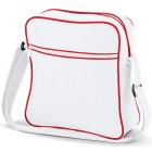 White Retro Flight Bags