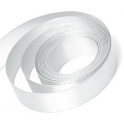 White Double Faced Satin Ribbon