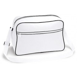 White Retro Shoulder Bags