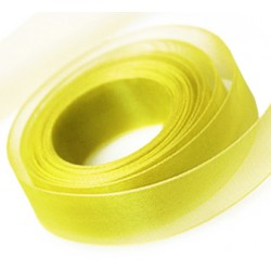 Pale Yellow Chiffon Ribbon