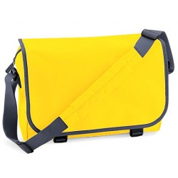 Yellow School Messenger Bags