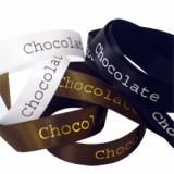 Chocolate Printed Ribbon