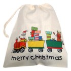 Toy Printed Cotton Drawstring Bags