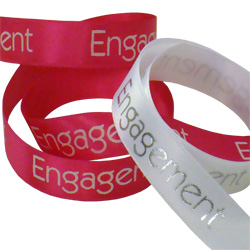 Engagement Printed Ribbon