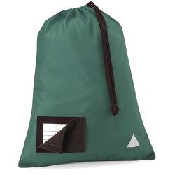 School Pump Bags Bottle Green