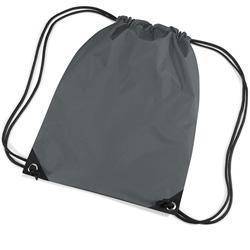 Grey Premier Nylon Backpacks