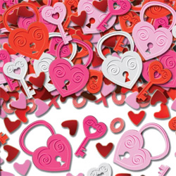 Key To My Heart Table Confetti