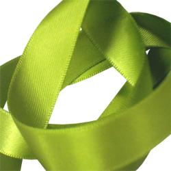 15mm Lemon Grass Satin Ribbon