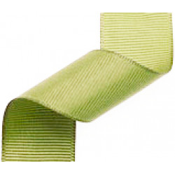 23mm Grosgrain Ribbon Light Moss