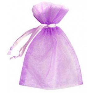Lilac Organza Bags
