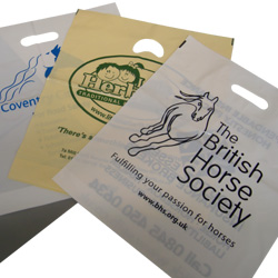 15x18in Printed Carrier Bags
