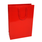 Medium Red Gloss Paper Carrier Bags