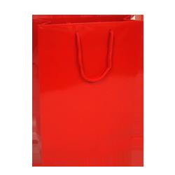 Medium Red Gloss Paper Carrier Bags