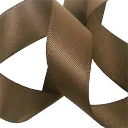 15mm Mocha Satin Ribbon