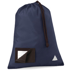 School Pump Bags Navy