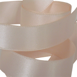 15mm Nude Satin Ribbon