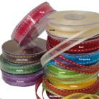 Organza Stitch Ribbon