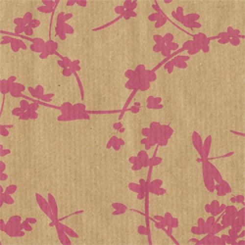Pink Oriental Kraft Rolls