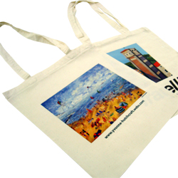 Transfer Printed Cotton Bags