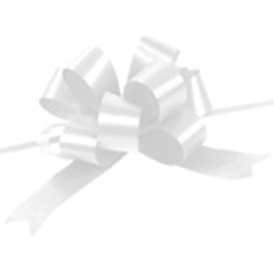 White Pull Bows