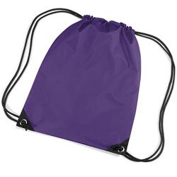 Purple Premier Nylon Backpacks