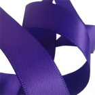 15mm Regal Purple Satin Ribbon