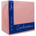 Coloured Serviettes Rose Pink