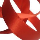 15mm Rust Satin Ribbon