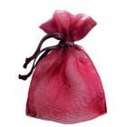 Rustic Red Organza Bags