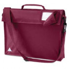 Maroon School Bags With Strap