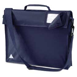 Navy School Bags With Strap