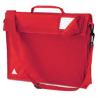 Red School Bags With Strap