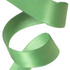 15mm Spearmint Double Faced Satin Ribbon