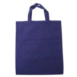 Medium Blue Cotton Bags