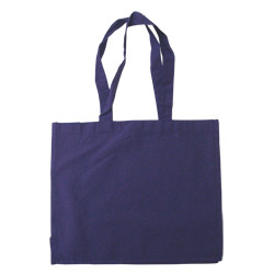Large Blue Cotton Bags