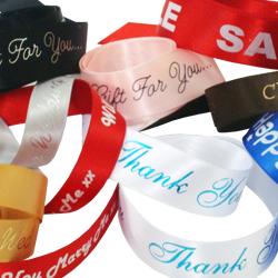 Stock Printed Ribbons