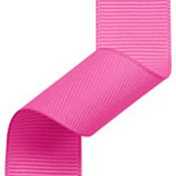 23mm Grosgrain Ribbon Shocking Pink