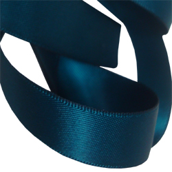 15mm Teal Satin Ribbon