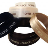 Toffee Fudge Printed Ribbon