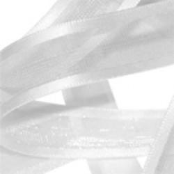 White Elegance Organza Ribbon