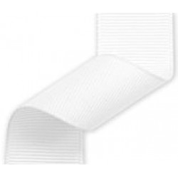 23mm Grosgrain Ribbon White